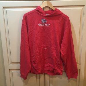 Nike gonzaga hoodie s red